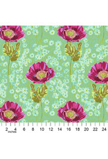 PD's Anna Maria Horner Collection Bright Eyes, Bossy in Meadow, Dinner Napkin