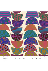 Anna Maria Horner Bright Eyes, Stacked in Lunch, Fabric Half-Yards