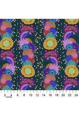 Anna Maria Horner Bright Eyes, Brimming in Pine, Fabric Half-Yards