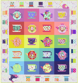 Tula Pink Mad Hatter's Tea Party Quilt Kit, from Tula Pink's Curiouser and Curiouser
