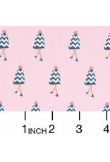 Dear Stella ON SALE-Parisienne, Rosebloom in Pink, Fabric FULL-Yards