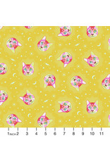 PD's Tula Pink Collection Curiouser and Curiouser, Cheshire in Wonder, Dinner Napkin