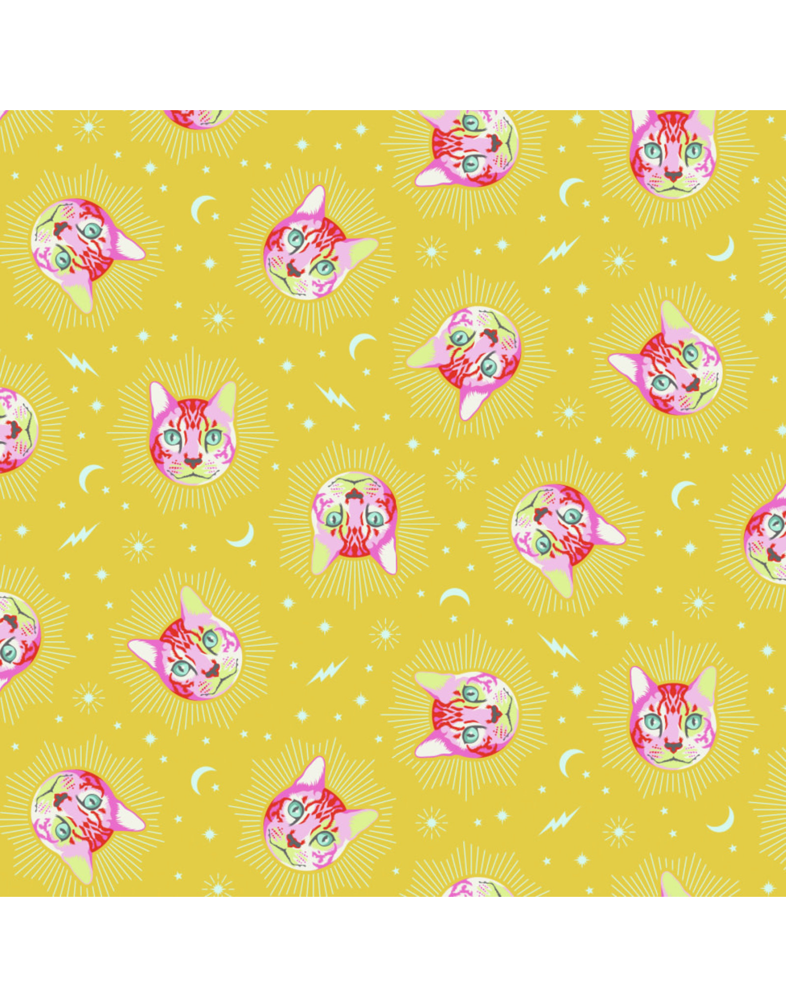 Tula Pink Curiouser and Curiouser, Cheshire in Wonder, Fabric Half-Yards