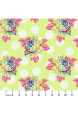 PD's Tula Pink Collection Curiouser and Curiouser, Painted Roses in Sugar, Dinner Napkin