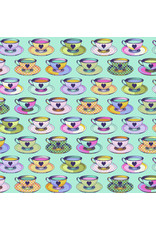 Tula Pink Curiouser and Curiouser, Tea Time in Daydream, Fabric Half-Yards