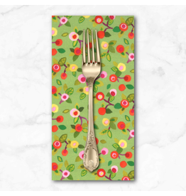 PD's Moda Collection Fanciful Forest, Flower Blossoms in Leaf, Dinner Napkin