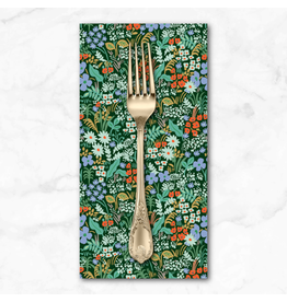 PD's Rifle Paper Co Collection Meadow, Meadow in Hunter, Dinner Napkin