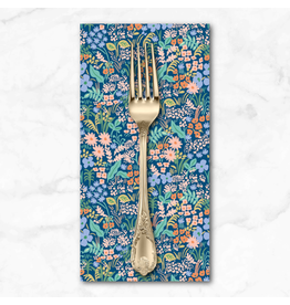 PD's Rifle Paper Co Collection Meadow, Meadow in Blue, Dinner Napkin