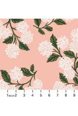 Rifle Paper Co. Meadow, Hydrangea in Blush, Fabric Half-Yards