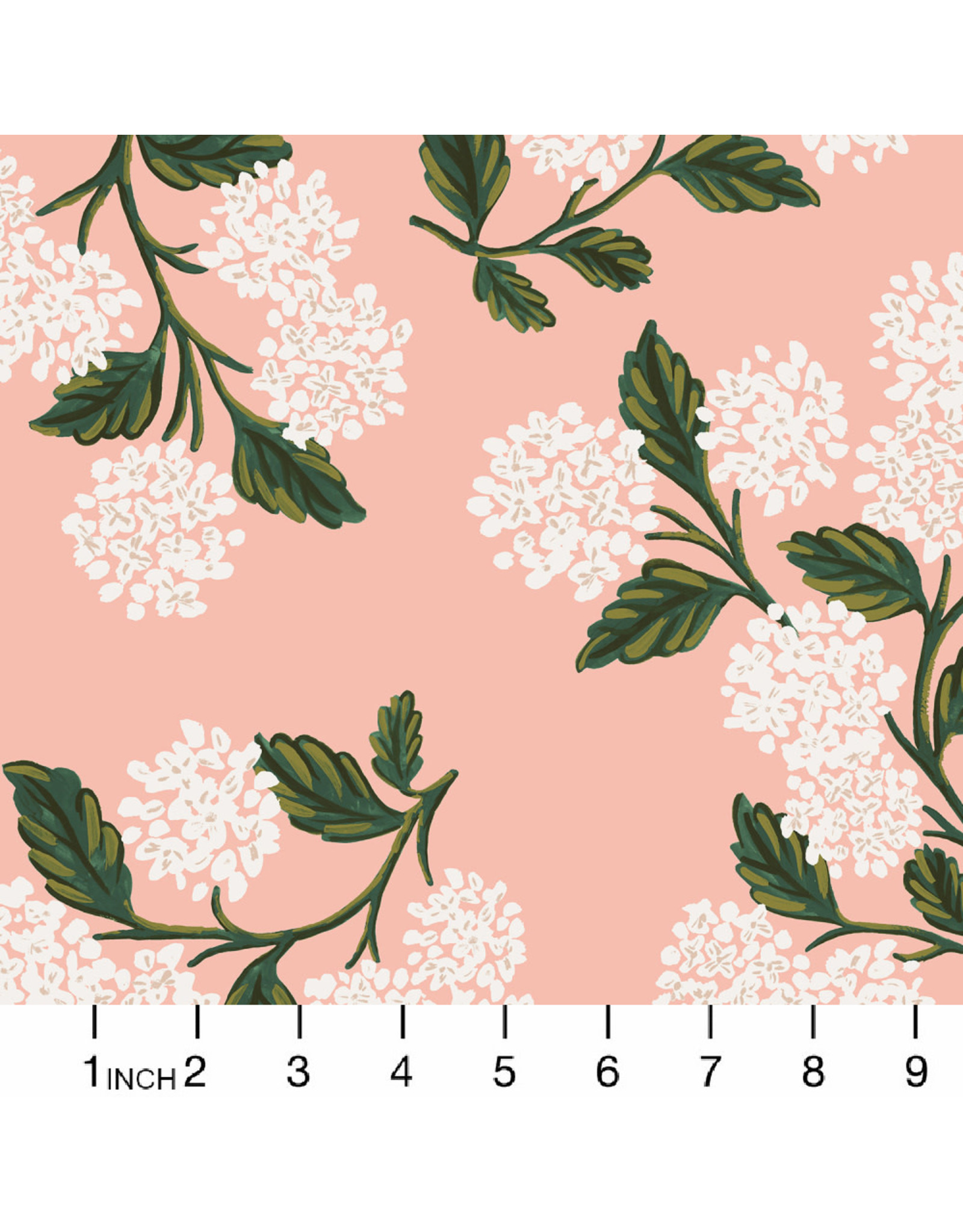 PD's Rifle Paper Co Collection Meadow, Hydrangea in Blush, Dinner Napkin