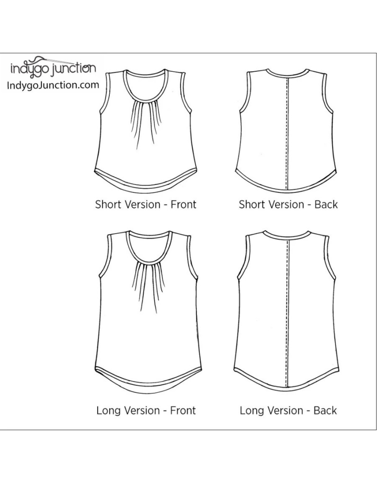 Indygo Junction Everyday Tank Pattern