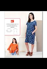 Liesl+Co. Gelato Blouse + Dress Pattern