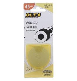 Olfa Olfa Rotary Replacement Blade 45mm - 2ct