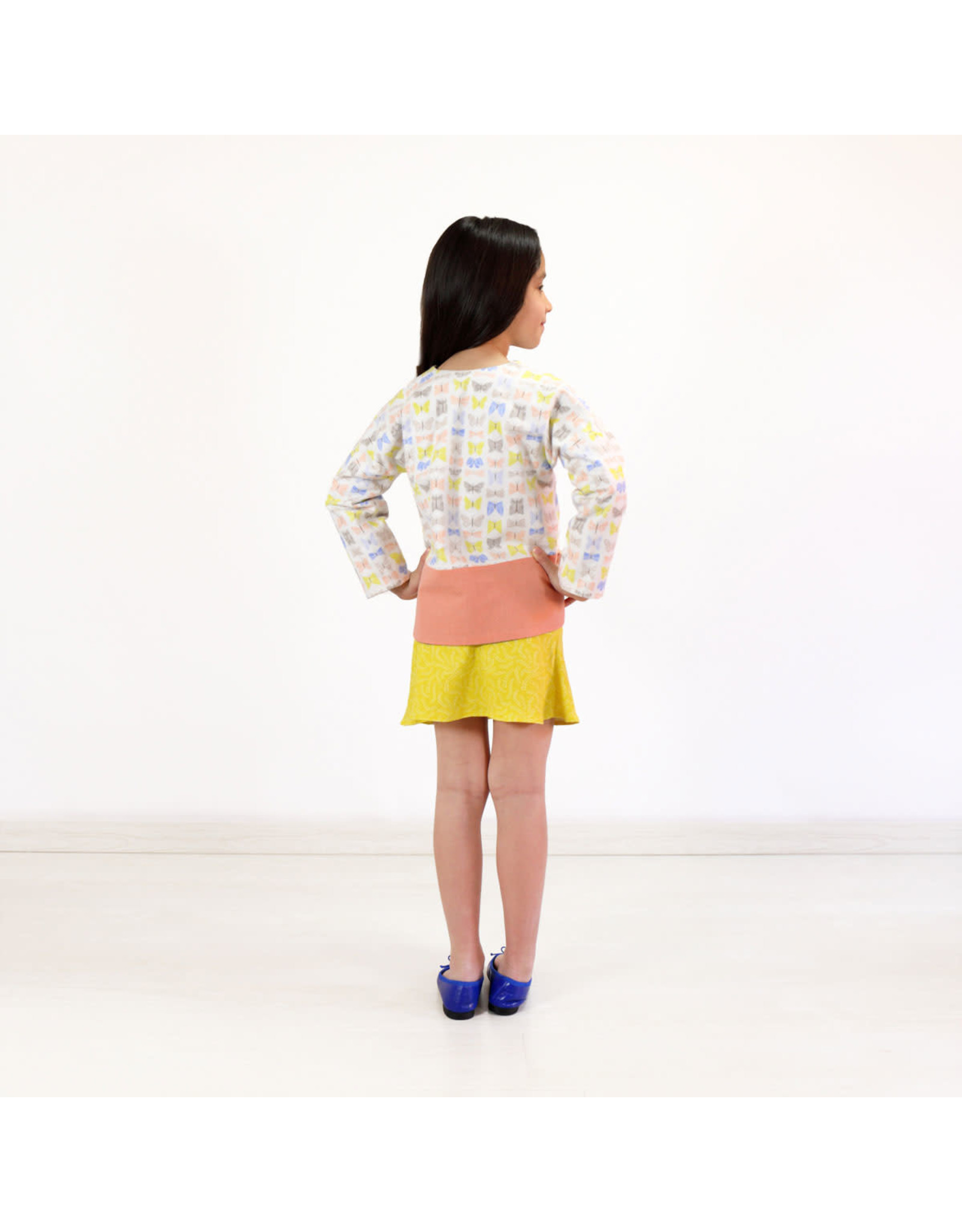 Oliver + S Oliver+S's Double Dutch Jackert + Skirt Pattern - Sizes 6M-12M - 10-12
