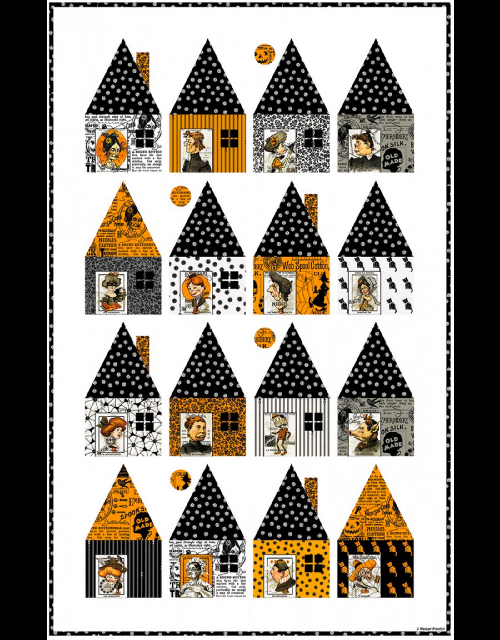 J. Wecker Frisch Cabin Chills Quilt Pattern