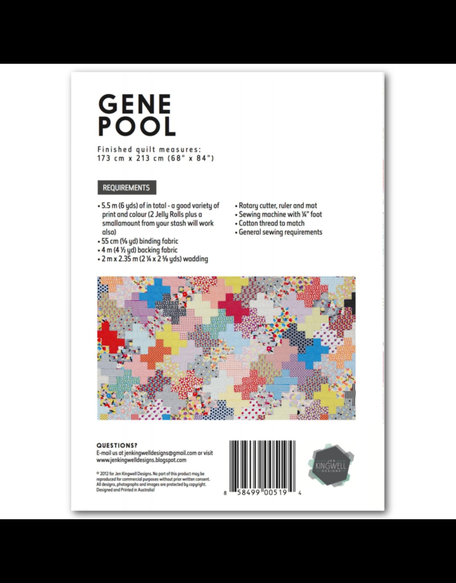 Jen Kingwell Gene Pool Quilt Pattern