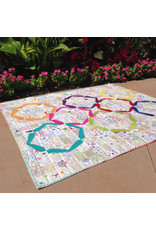 Color Girl Hula Girl Quilt Pattern