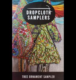 Dropcloth Samplers Christmas Tree Ornament Embroidery Sampler from Dropcloth Samplers