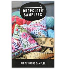 Dropcloth Samplers Pincushions Sampler, Embroidery Sampler from Dropcloth Samplers