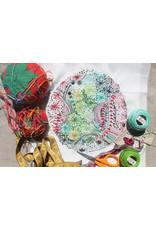 Dropcloth Samplers Milky Way Sampler,  Embroidery Sampler from Dropcloth Samplers