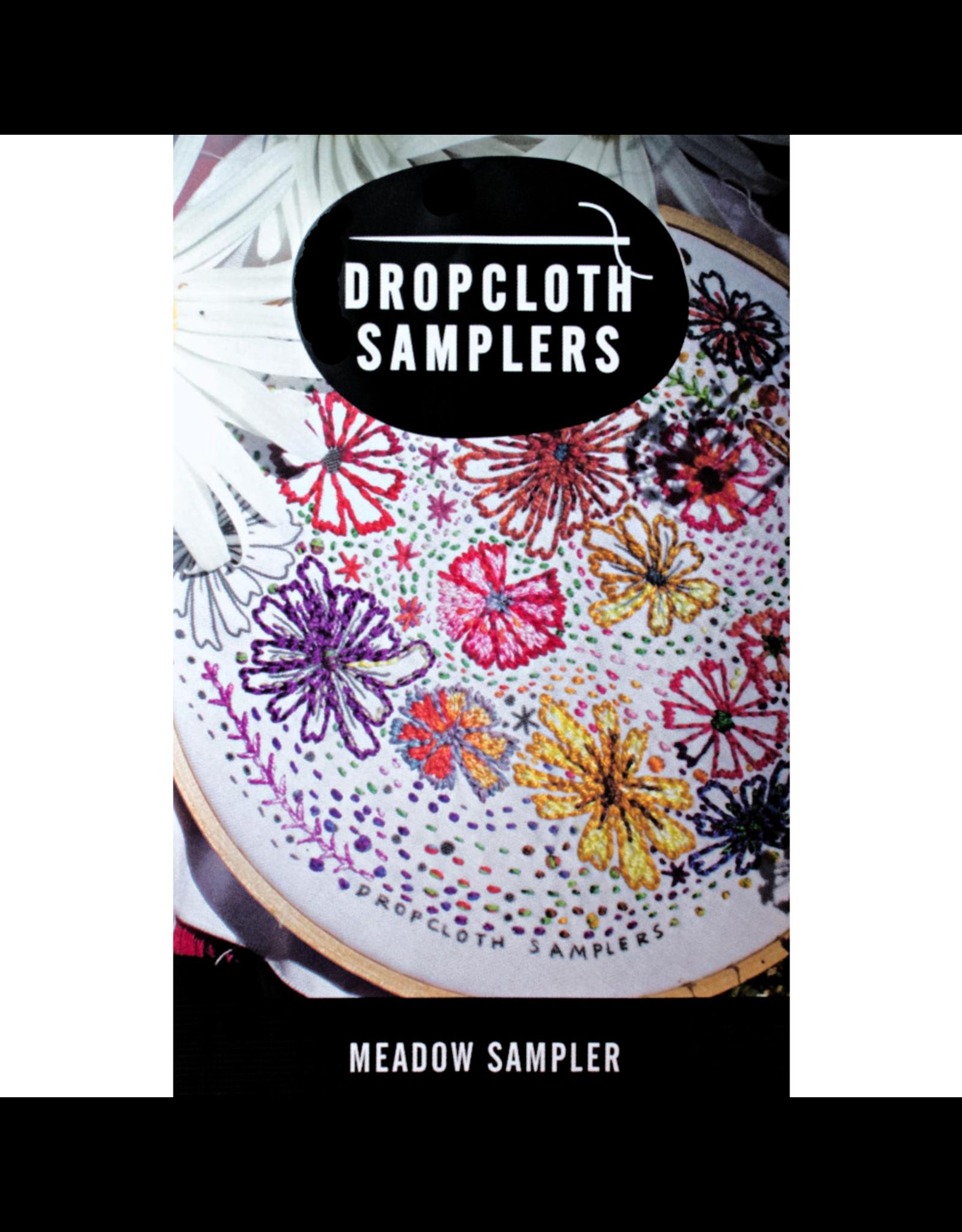 Dropcloth Samplers Meadow Sampler,  Embroidery Sampler from Dropcloth Samplers