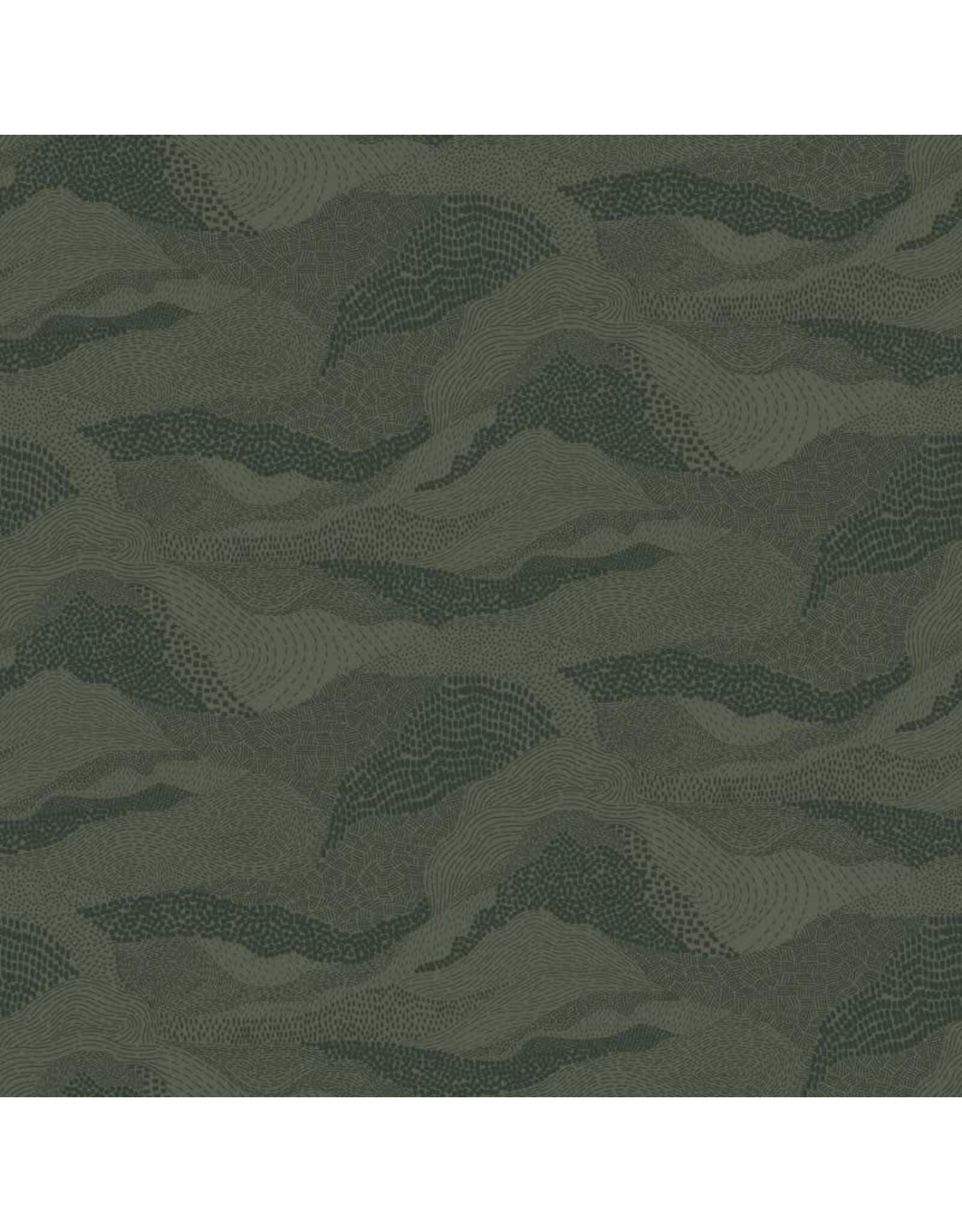 Figo Elements, Earth in Green, Fabric Half-Yards
