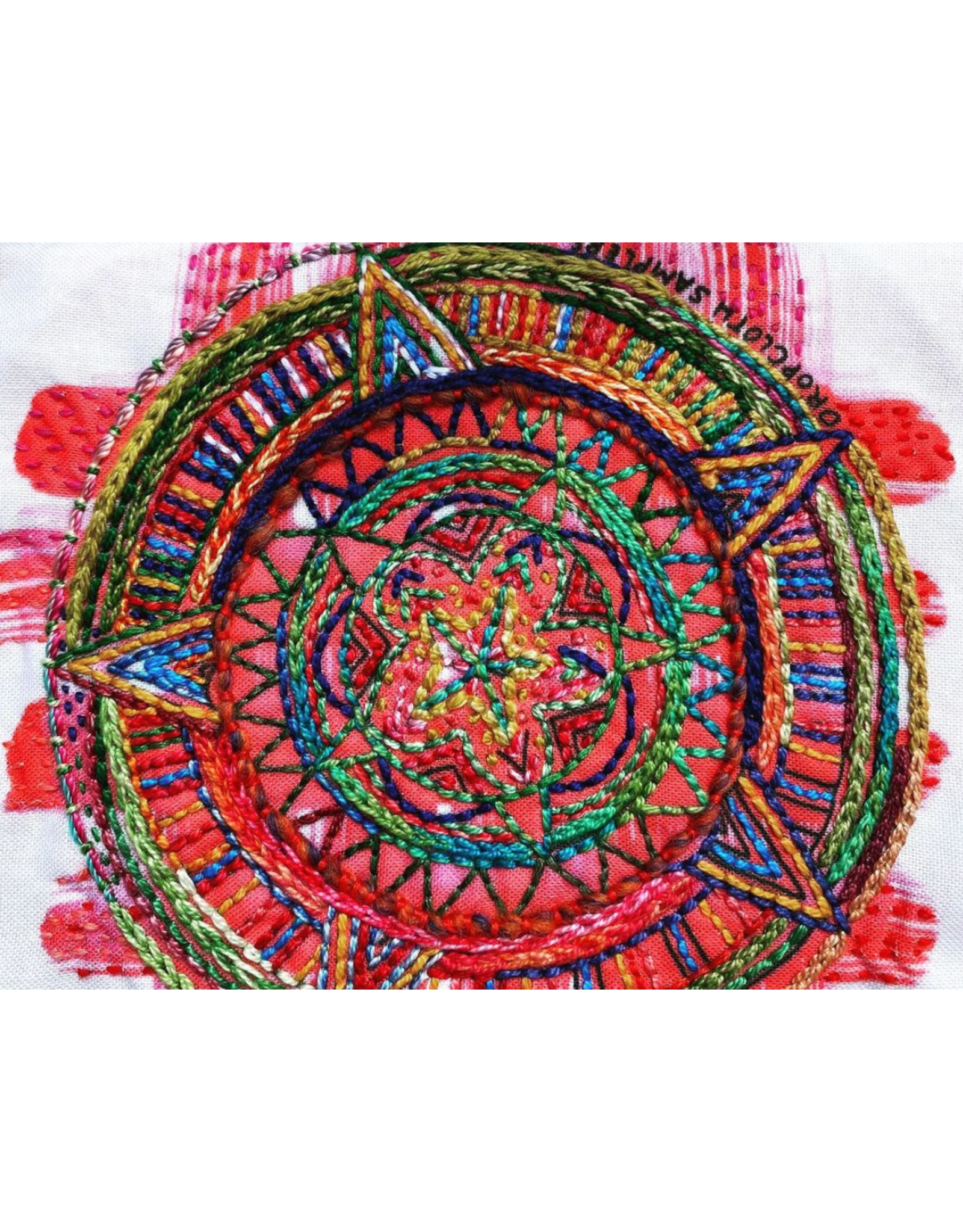 Dropcloth Samplers Compass Sampler,  Embroidery Sampler from Dropcloth Samplers
