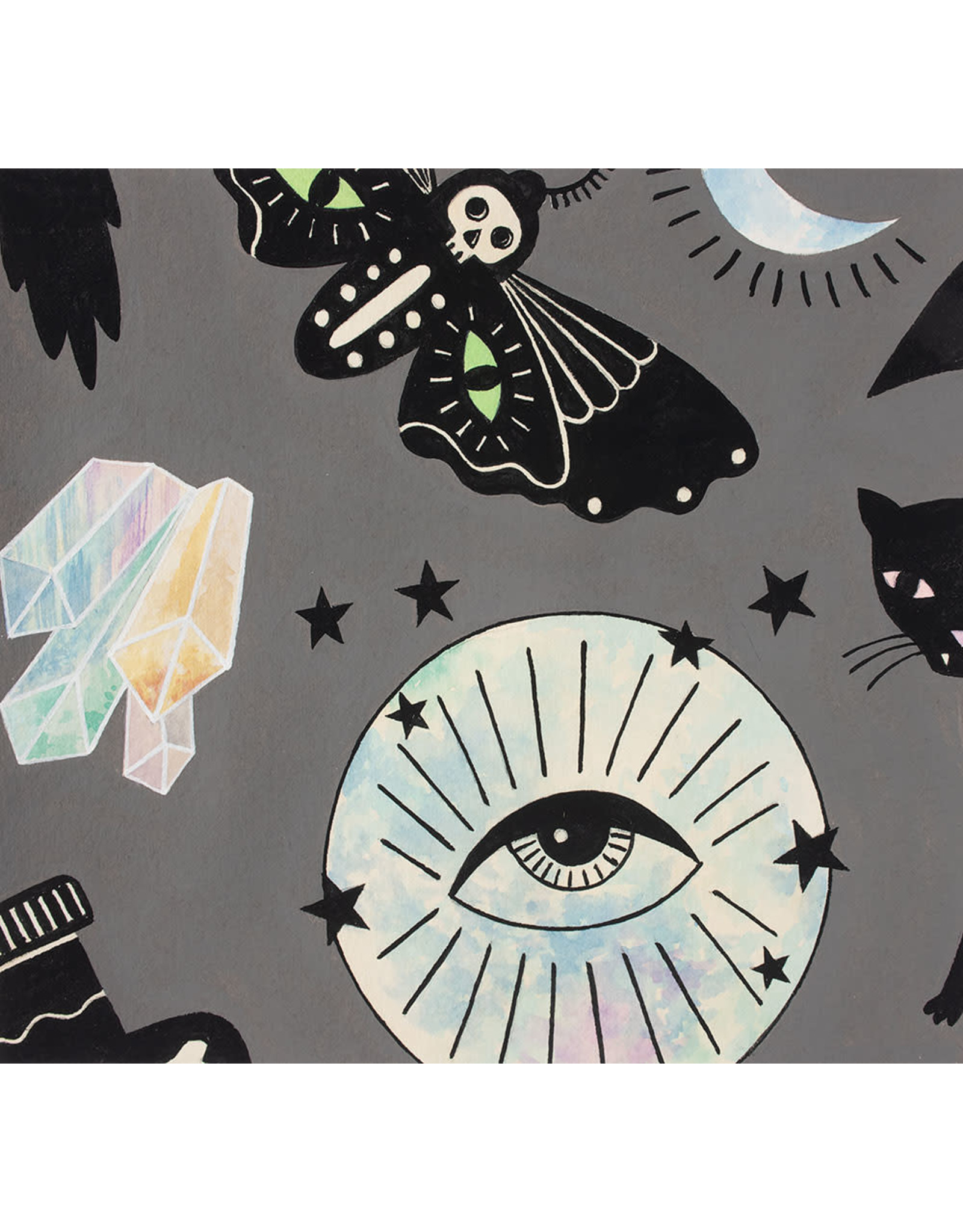 PD's Alexander Henry Collection Haunted House, Eye of the Moon in Smoke, Dinner Napkin