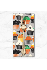 PD's Maude Asbury Collection Boolicious, Frankencakes in Grey, Dinner Napkin