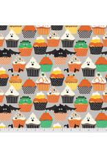 Maude Asbury Boolicious, Frankencakes in Grey, Fabric Half-Yards