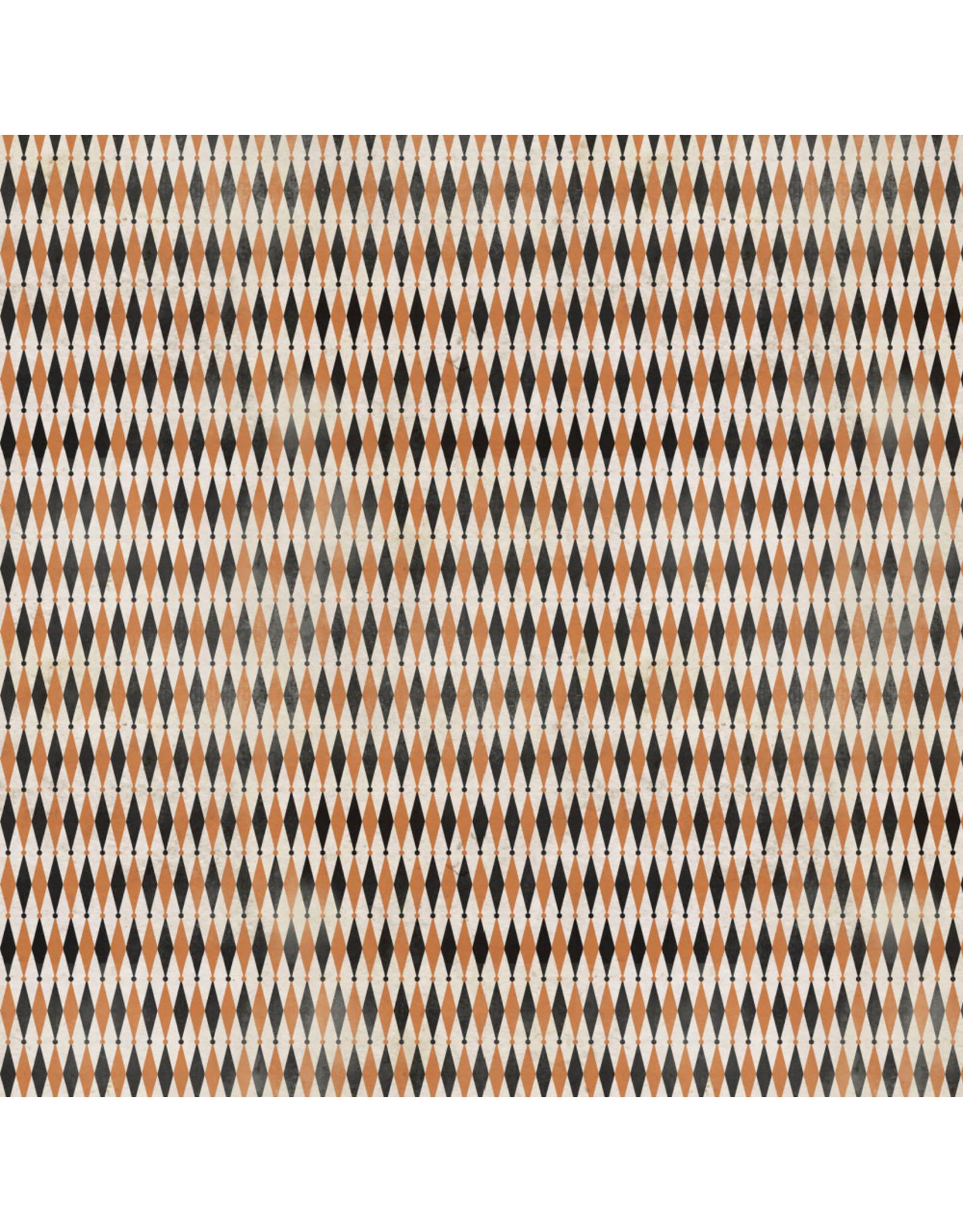 Tim Holtz Regions Beyond, Peculiar in Multi, Fabric Half-Yards