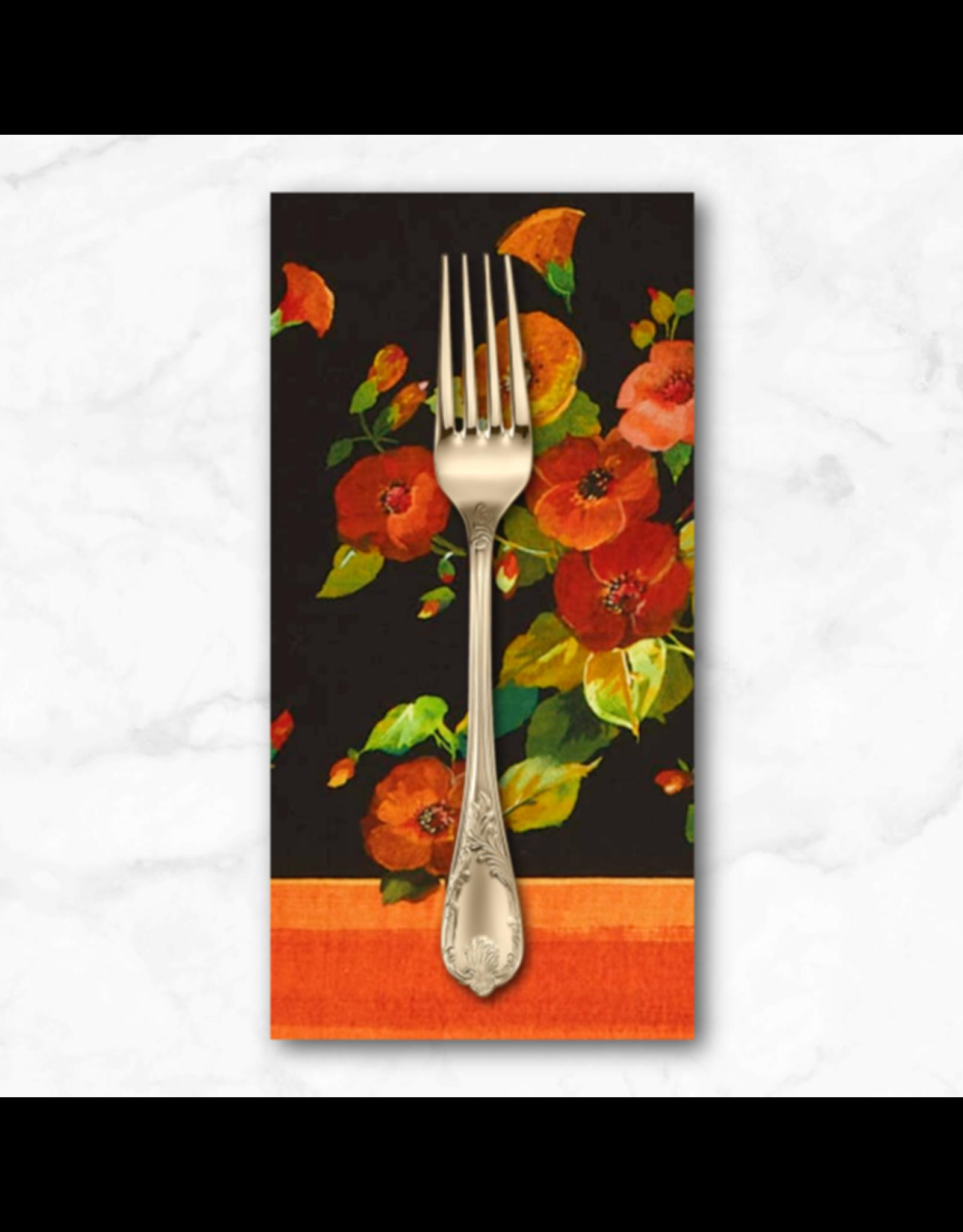 PD's Michael Miller Collection Harvest Tribute, Harvest Border, Dinner Napkin