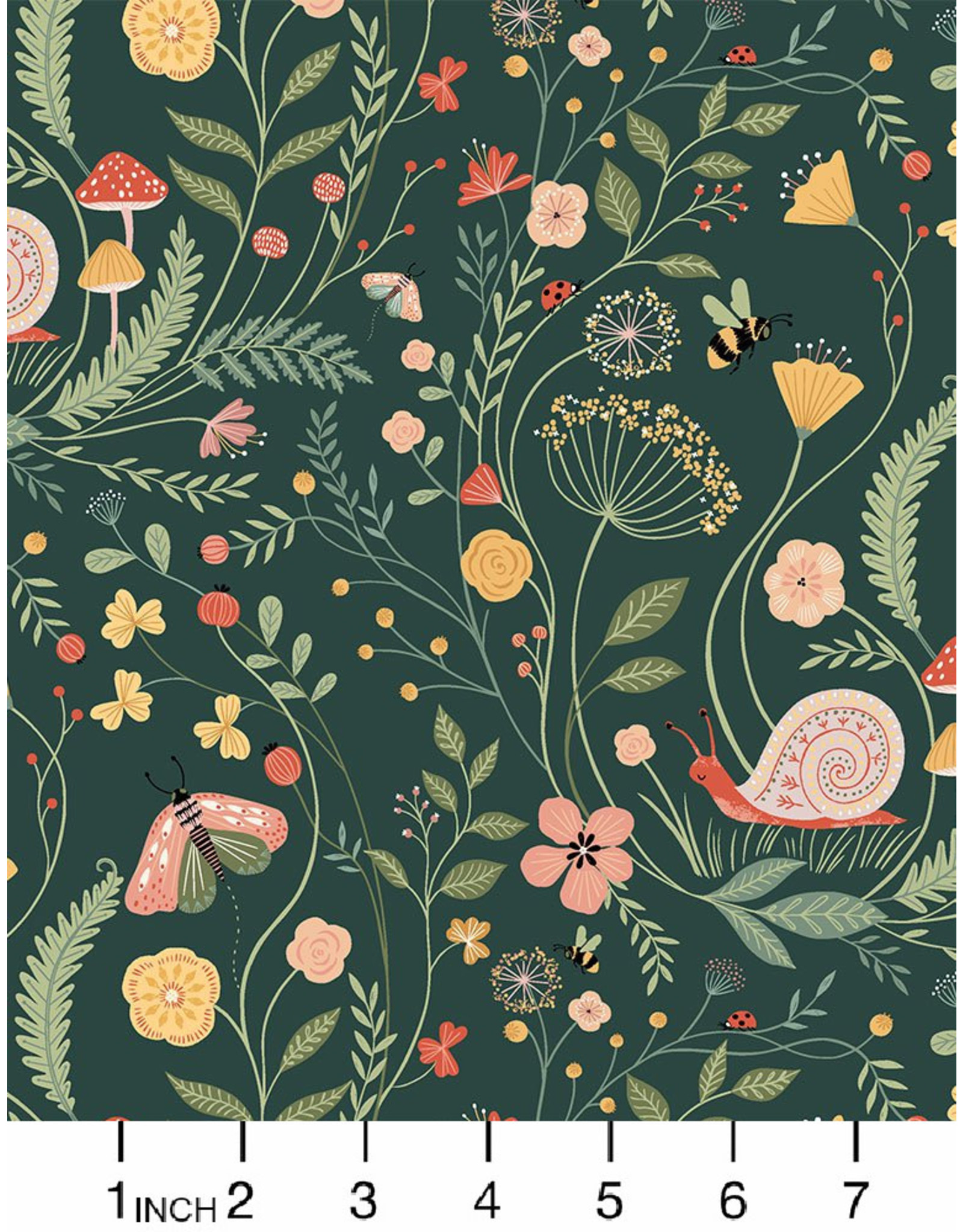 Dear Stella Frond of You, Wet Your Plants in Alpine, Fabric Half-Yards