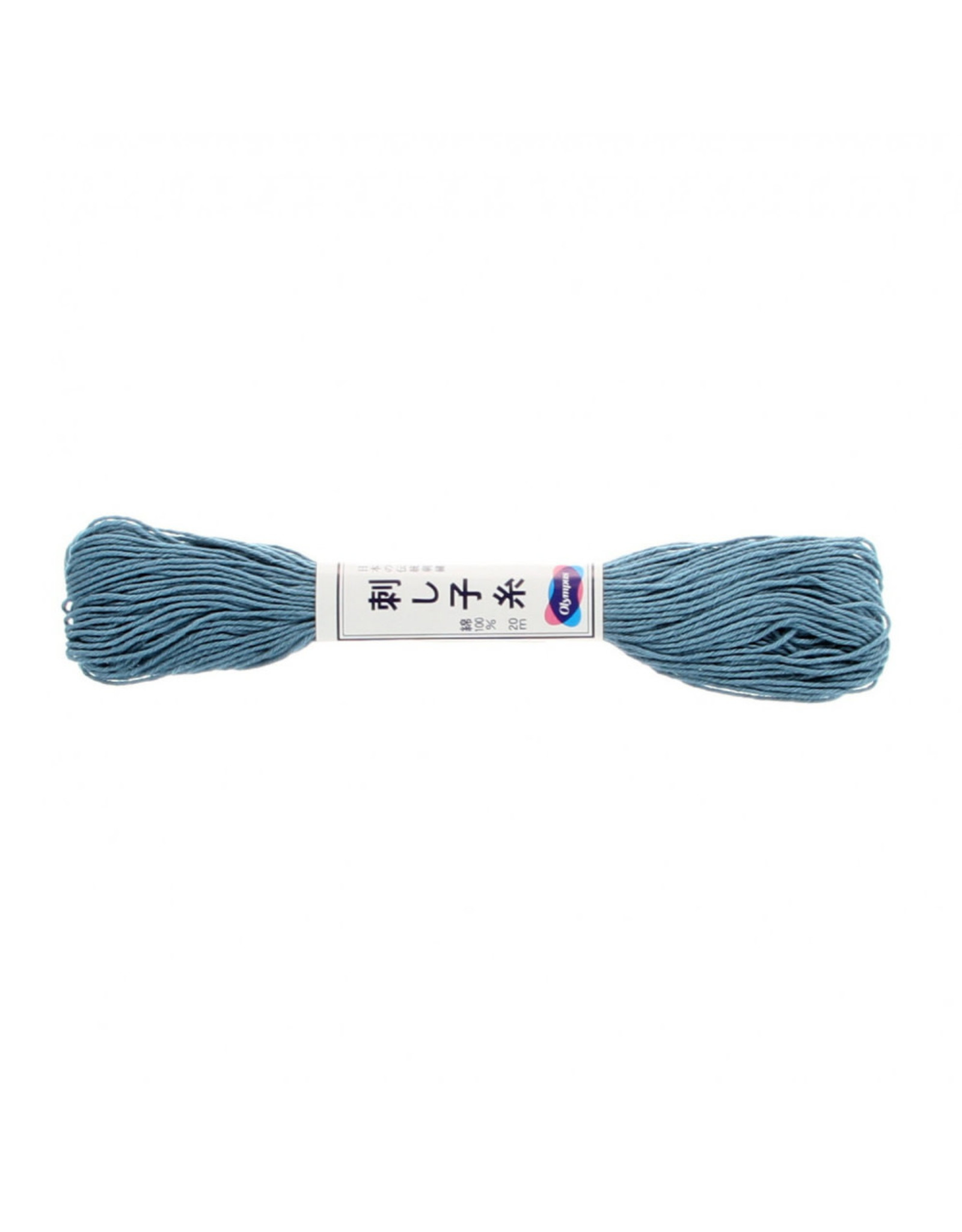 Olympus Sashiko Thread, Sky Blue, 22 yd. skein, 100% Cotton