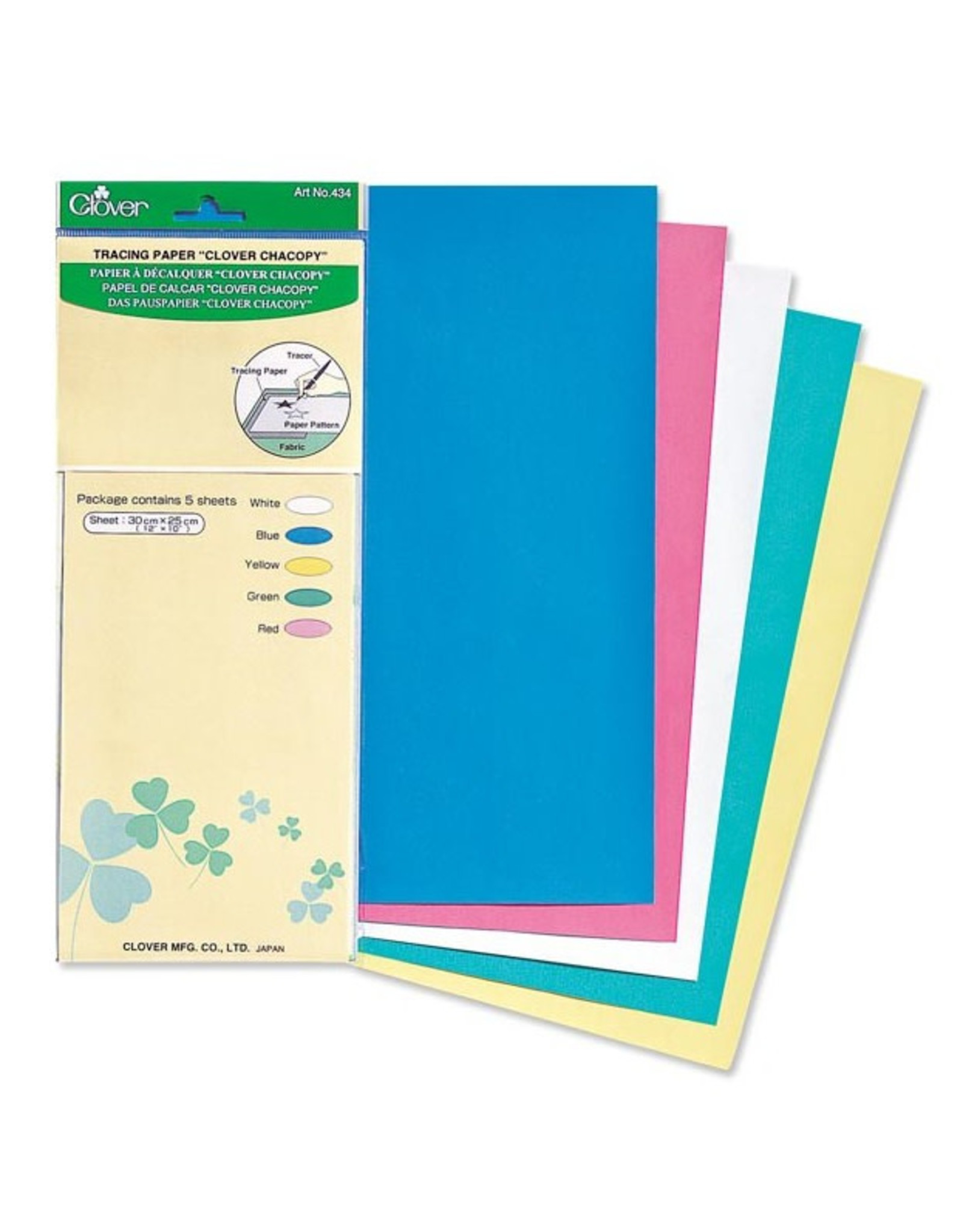 """Clover Tracing Paper, """"Clover Chacopy"""""""
