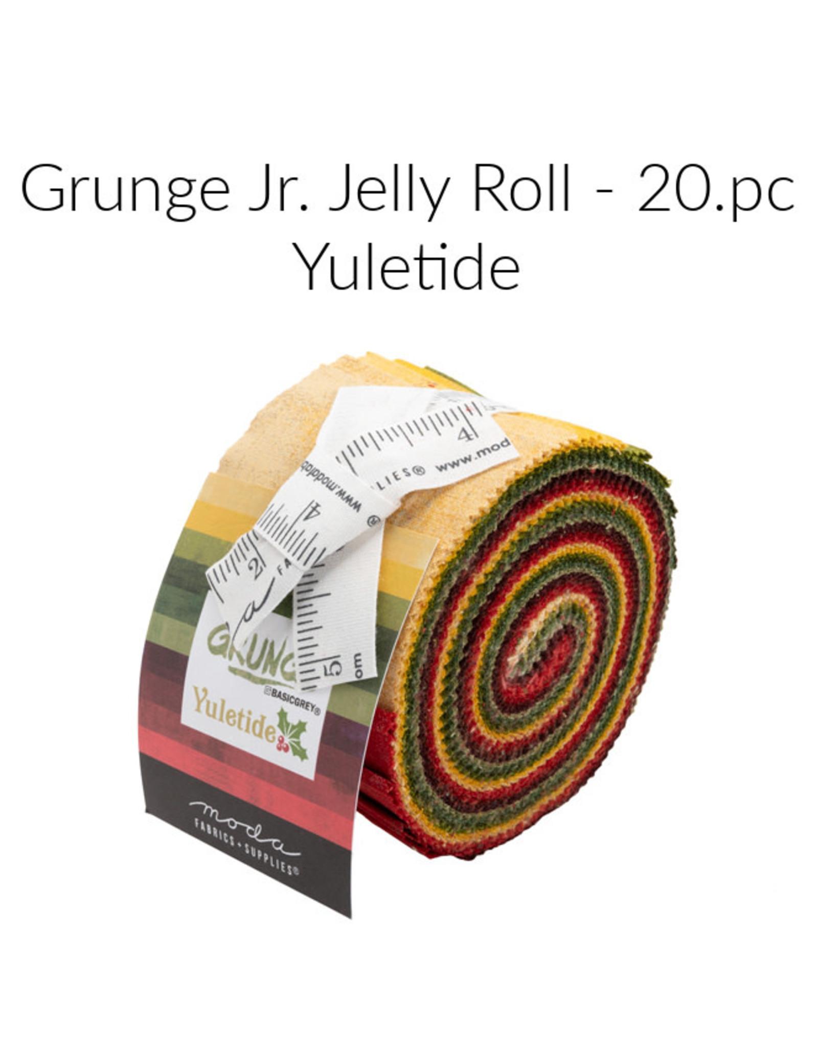 Moda Grunge Yuletide, Jelly Roll, 20 pcs.