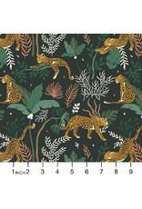 RJR Fabrics Magic of Serengeti, Leopard in Jungle, Fabric Half-Yards