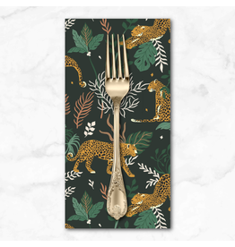 PD's RJR Collection Magic of Serengeti, Leopard in Jungle, Dinner Napkin