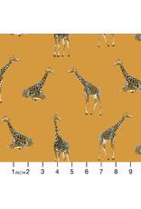 PD's RJR Collection Magic of Serengeti, Giraffe in Golden Vista, Dinner Napkin