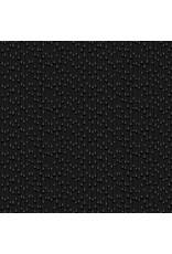 Andover Fabrics Century Black on Black Rain, Fabric Half-Yards