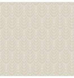 Giucy Giuce Century Prints, Deco Curtains in Champagne, Fabric Half-Yards