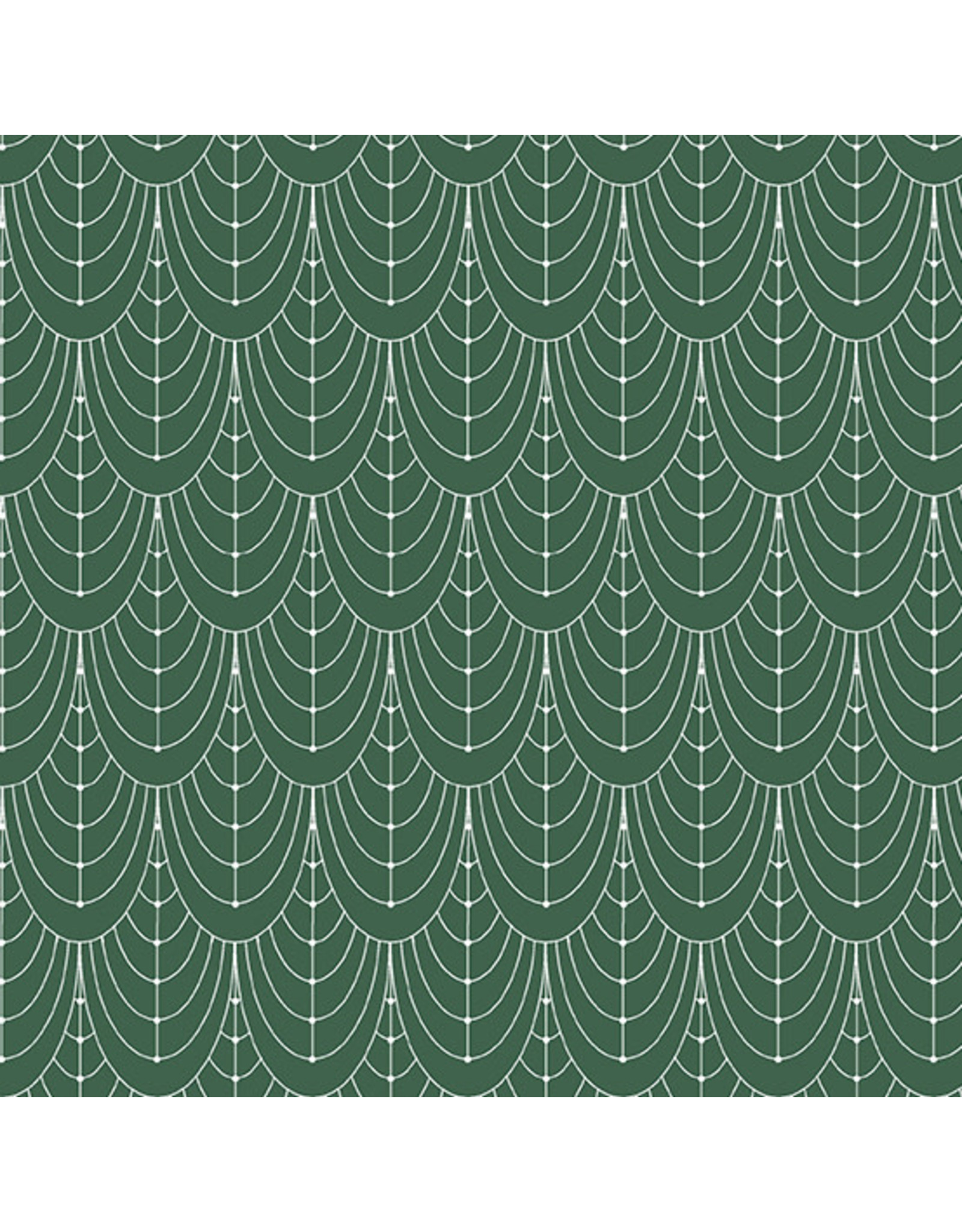 Giucy Giuce Century Prints, Deco Curtains in Hunter, Fabric Half-Yards