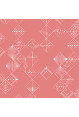 Giucy Giuce Century Prints, Deco Tiles in Dawn, Fabric Half-Yards