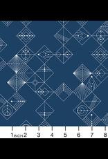 Giucy Giuce Century Prints, Deco Tiles in Uniform, Fabric Half-Yards