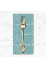 PD's Giucy Giuce Collection Century Prints, Deco Geese in Faded, Dinner Napkin