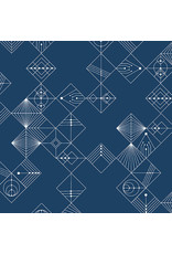PD's Giucy Giuce Collection Century Prints, Deco Tiles in Uniform, Dinner Napkin