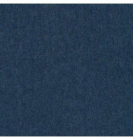 Robert Kaufman Laguna Lightweight Jersey Knit in Navy Heather, Fabric Half-Yards