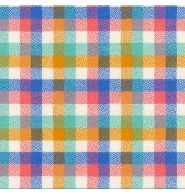 Robert Kaufman Yarn Dyed Cotton Flannel, Mammoth Junior Flannel in Sunrise, Fabric Half-Yards