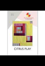 Quiltachusetts Citrus Play Quilt Kit