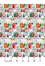 Christmas Collection Love at Frost Sight, Holiday Village, Dinner Napkin